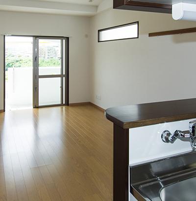 外壁・屋根以外にも内装工事の対応も可能です。